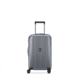 Valise Trolley Extensible Securitime Zip 4 Roues D Anthracite